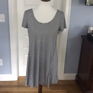 Adorable Striped Cover-Up/mini Dress